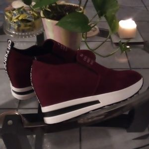ee7f6e17778c3 Shoes - Ladies lieisure platform hidden wedge sneaker